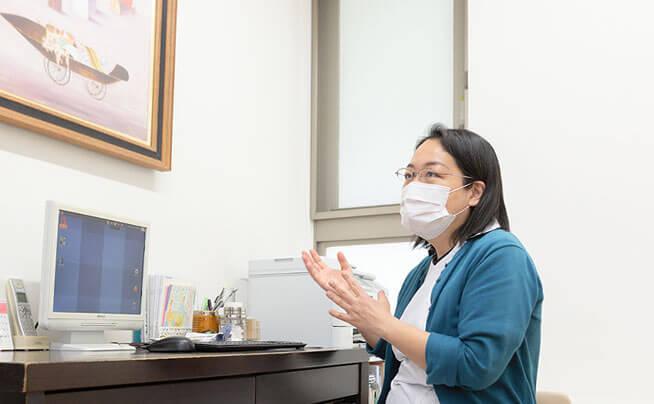 生理痛や生理不順など、月経に関するエキスパートが診療
